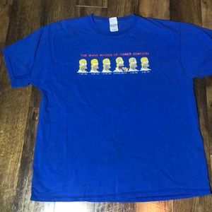 Vintage 90s Simpson shirt